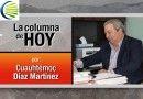 La Columna de Hoy –¡Rubén Escajeda deja la CNC!