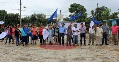 Alcalde Naranjense da banderazo a la construcción de magno auditorio