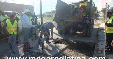 Arranca segunda etapa de Bacheo en calles de la Cabecera municipal
