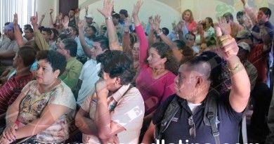 Crisis en Ayuntamiento de Naranjos sin rescate financiero empleados sin aguinaldos y pueblo sin obra publica
