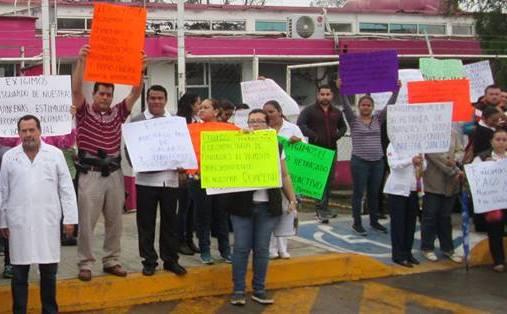 Sindicalizados del sector Salud paralizan el Estado, reclaman pago de salario