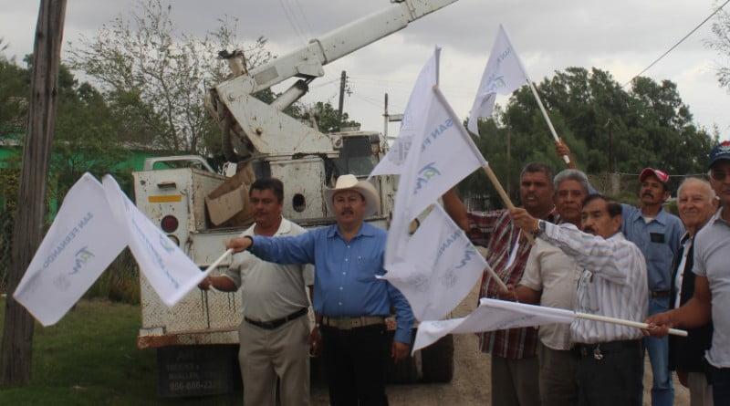 1 SAN FERNANDO - Da arranque José Ríos Silva a rehabilitación de luminarias