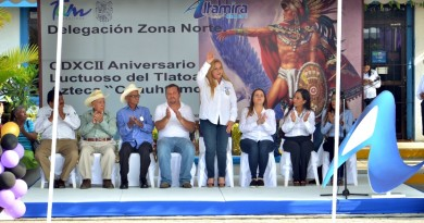 Conmemora Gobierno Municipal 492aniversario