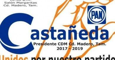 Pide Francisco Castañeda a Panistas MaderensesVoto de Confianza