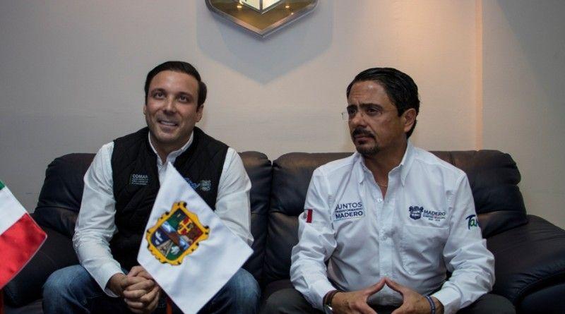 Gobierno de Ciudad Madero y Comapa