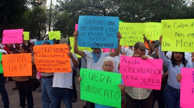 Trabajadores de confianza exigen desaparición del SUTRA