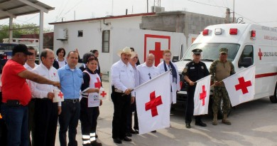Da banderazo José Ríos a Colecta de Cruz Roja