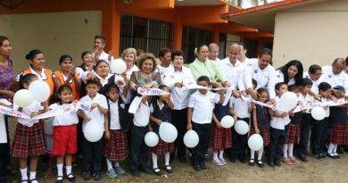 Inaugura Gobierno de Tampico comedor escolar