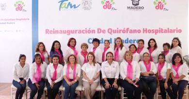 Presidenta del DIF Tamaulipas reinaugura