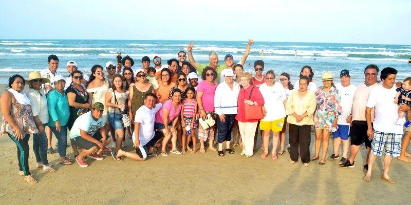 Registra playa Tesoro afluencia