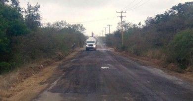 Rehabilita Obras Públicas rúapara llegar a la playa Tesoro