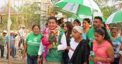 Arranca campaña proselitista Pedro Adrian Martínez estrada en Chicontepec.