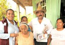 En Naranjos, Eloy Méndez Candidato de Morena recorre las calles de Amatlán