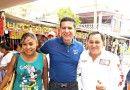 José Luis Banda Candidato del PRI-Verde en Naranjos, realiza gira de proselitismo en Amatlán