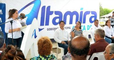 Pone en marcha presidenta del Sistema DIF Altamira, Lic.