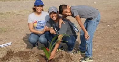 obierno de Tampico realiza jornada de reforestación