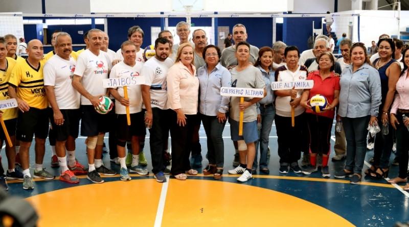 Garantiza Alma LauraAmparán total impulso al deporte