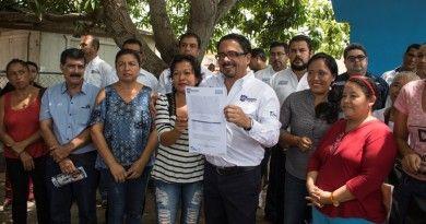 El Presidente Andrés Zorrilla recibe