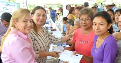"Encabeza Alma Laura Amparán JornadaMunicipal""Un Gobierno Cerca de Ti''en Monte Alto"