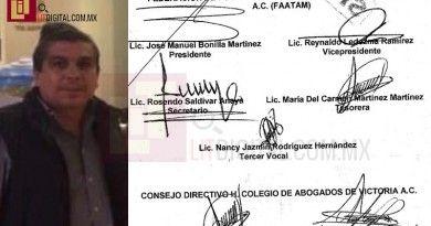 Presentan pruebas de usurpación de funciones cometido por José Manuel Bonilla