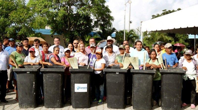 Inicia Gobierno de Altamira Campaña de Descacharrización y Lim