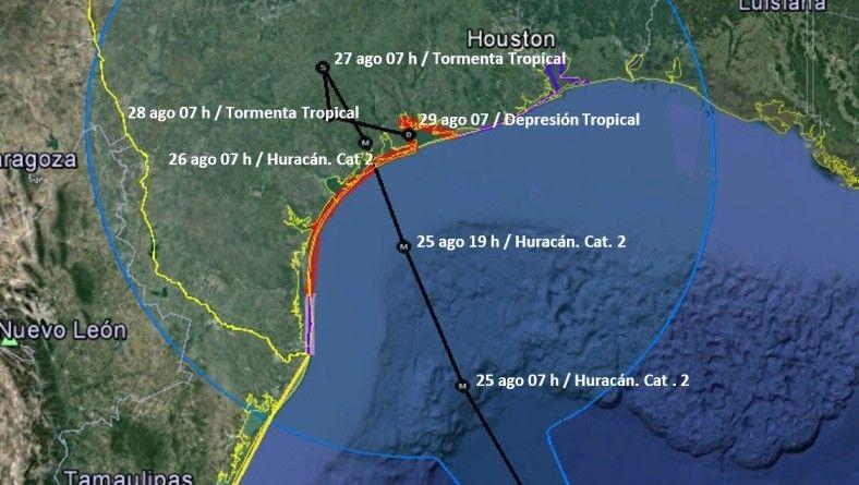 Lanza alerta por ciclón Harvy