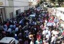 Antorchistas se manifiestan en Sedarpa por negativa de apoyos a campesinos veracruzanos