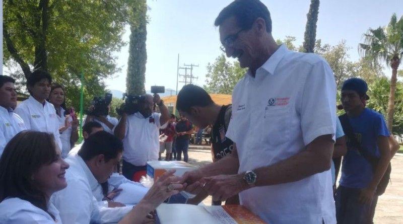 Emite su voto José Andrés Suárez Fernández candidato único a Rector de la UAT