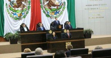 Entrega Gobernador Primer Informe ante el Congreso de Tamaulipas. (