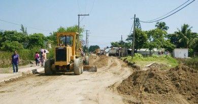 Continúa programa de mejoramiento vial en Altamira