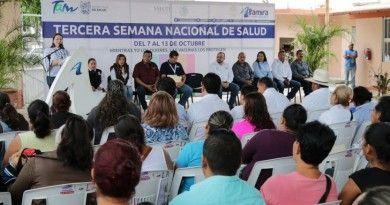 Inauguran Tercera Semana Nacional de Salu