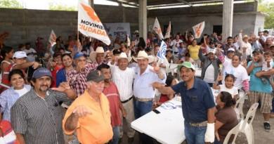 """Total respaldo en el """"6 de Enero"""" recibe Pepe Ríos, candidato a la Presidencia de San Fernando"""