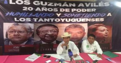Vamos a exterminar el cacicazgo en Tantoyuca: Manuel Francisco Martínez